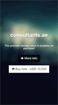 Mobile Preview of consultants.ae