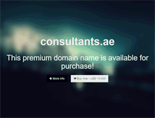 Tablet Preview of consultants.ae